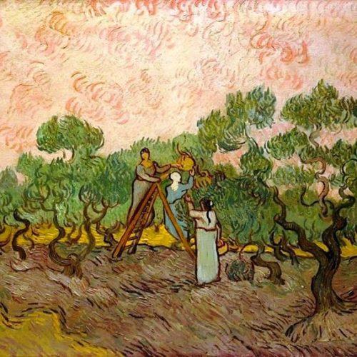 Vincent Van Gogh - Women Picking Olives. December 1889